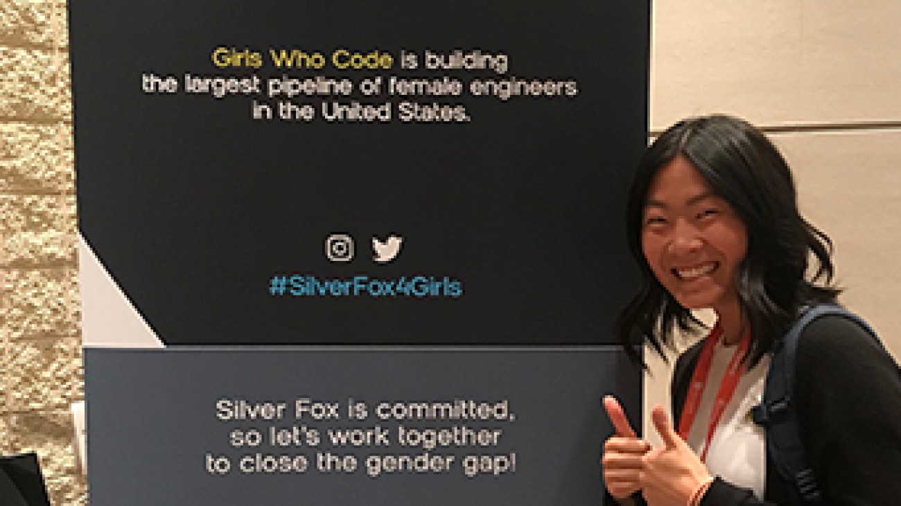 Silver Fox + Girls Who Code
